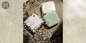 صابون آرایش پاک کن شیر کرمی تی تری بیول