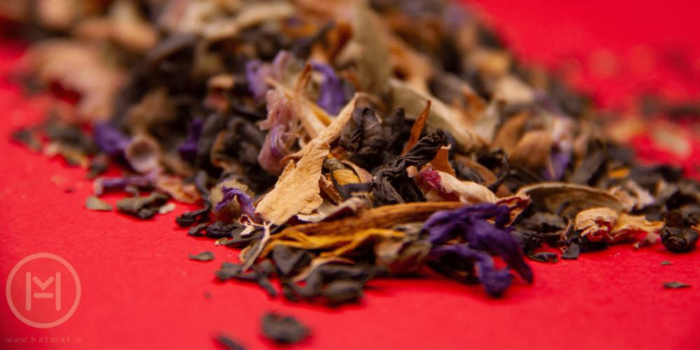 دمنوش چای هفت گیاه برای تسکین گلو درد