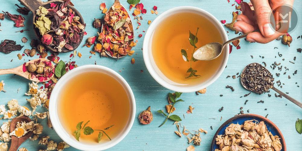 دمنوش چای هفت گیاه و درمان سرما خوردگی