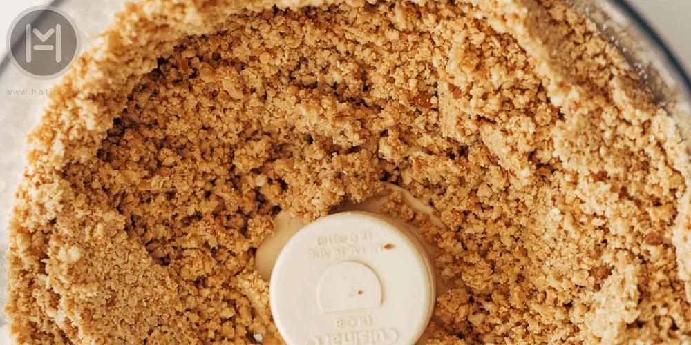 کره بادام زمینی به روش خانگی